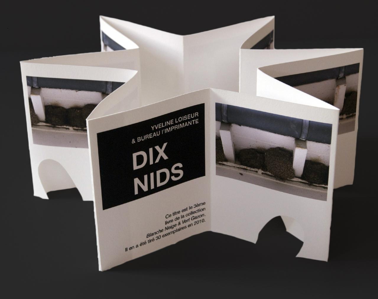 Dix nids: couverture